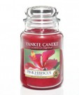 Yankee Candle Pink Hibiscus, großes Glas