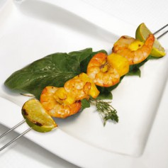Zitronen Chili Shrimps