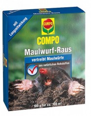COMPO Maulwurf-Raus 2 x 50 g Portionsbeutel